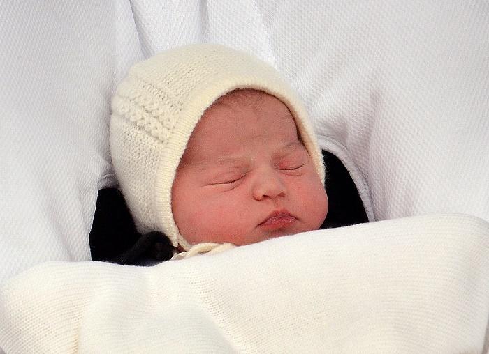 Viņas karaliskā augstība princese Kembridžas Šarlote.