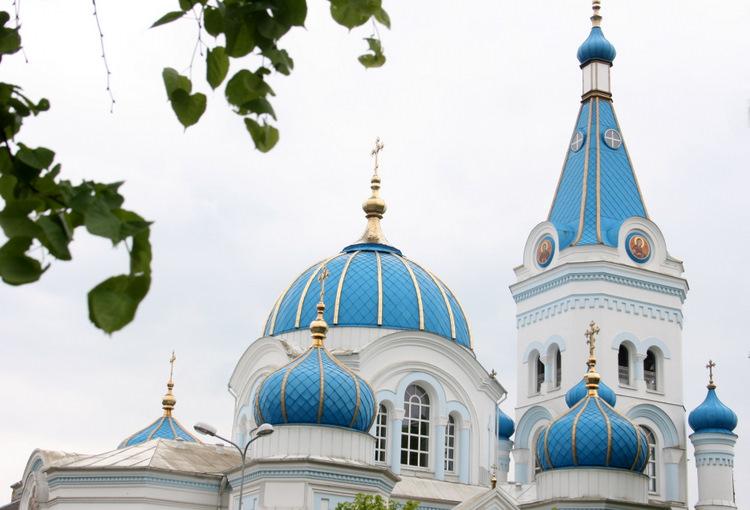 Svētā Simeona un Svētās Annas pareizticīgo katedrāle.