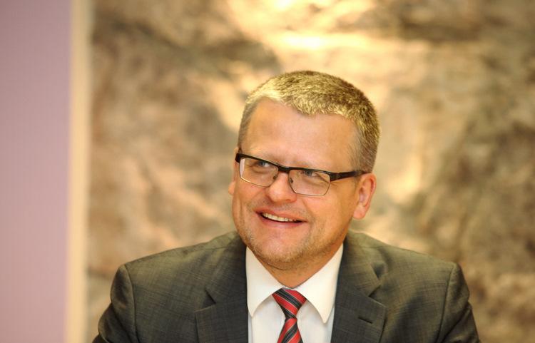 Veselības ministrs Guntis Belēvičs.