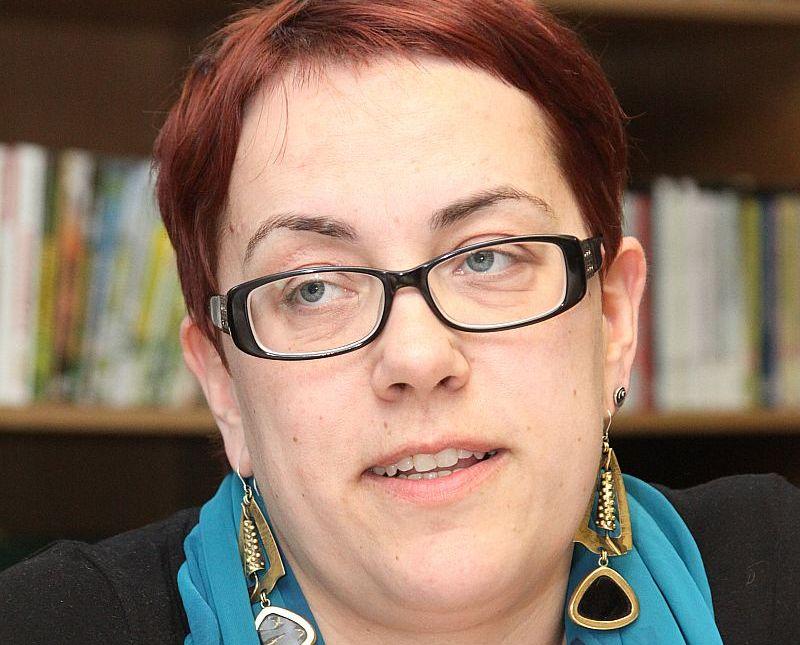 Skolotāja un dzejniece Iveta Ratinīka