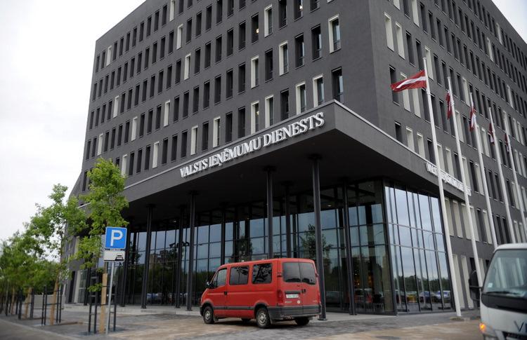 Valsts ieņēmumu dienesta ēku komplekss.