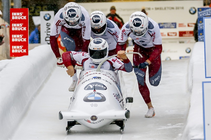 Latvijas bobsleja ekipāža