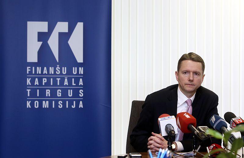 Finanšu un kapitāla tirgus komisijas priekšsēdētājs Pēteris Putniņš