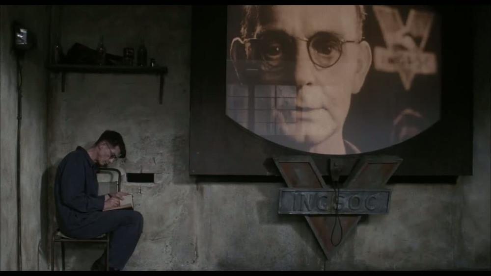 "Kadrs no filmas ""1984""."