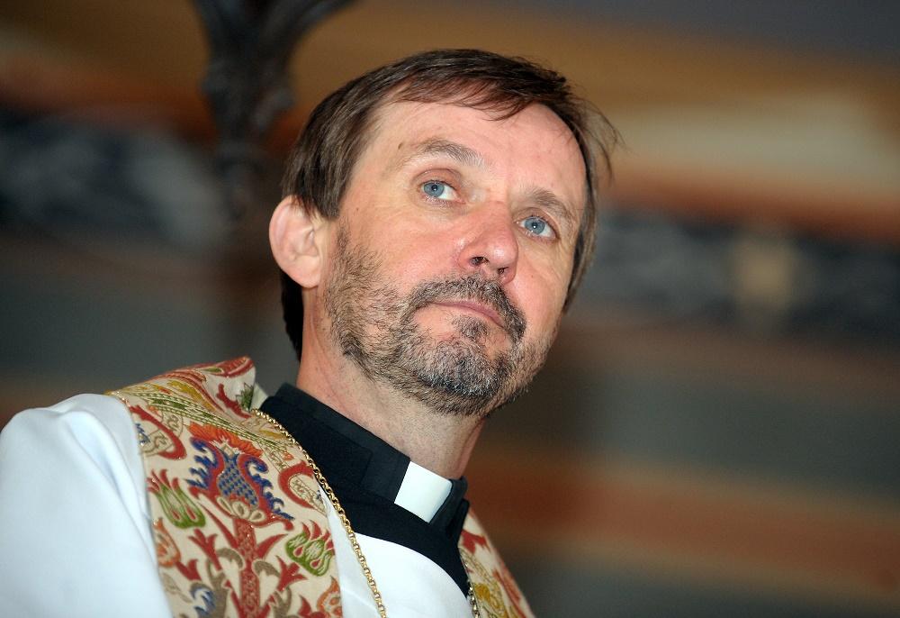 Latvijas evaņģēliski luteriskās baznīcas arhibīskaps Jānis Vanags.