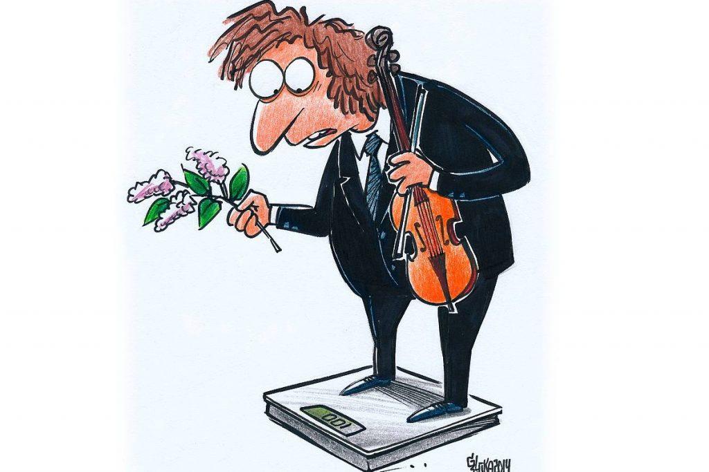 Gata Šļūkas karikatūra