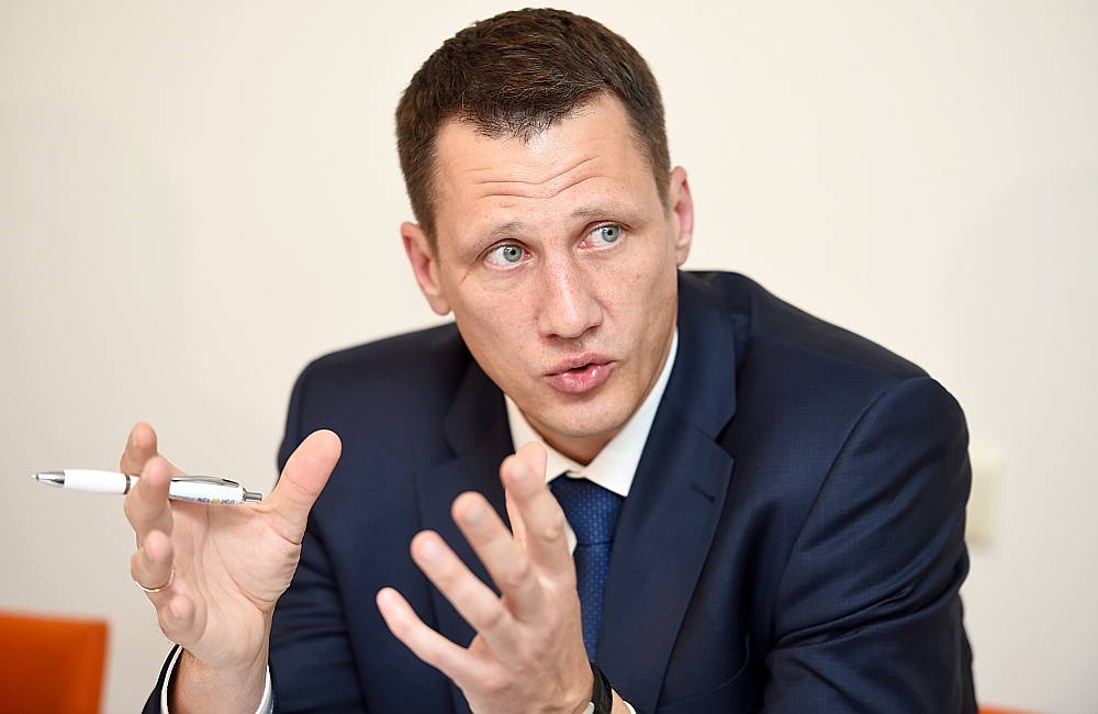 Latvijas Alternatīvo finanšu pakalpojumu asociācijas vadītājs Gints Āboltiņš.