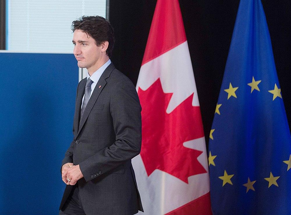 Kanādas premjerministrs Džastins Trudo. AFP