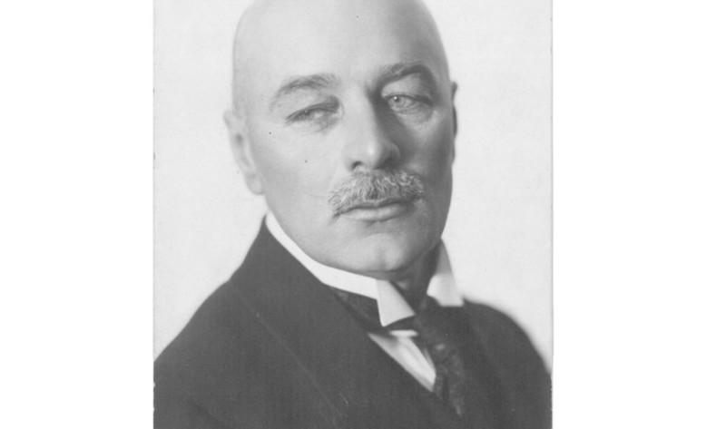 Rakstnieks Jānis Akuraters 20. gadsimta 20. gados.