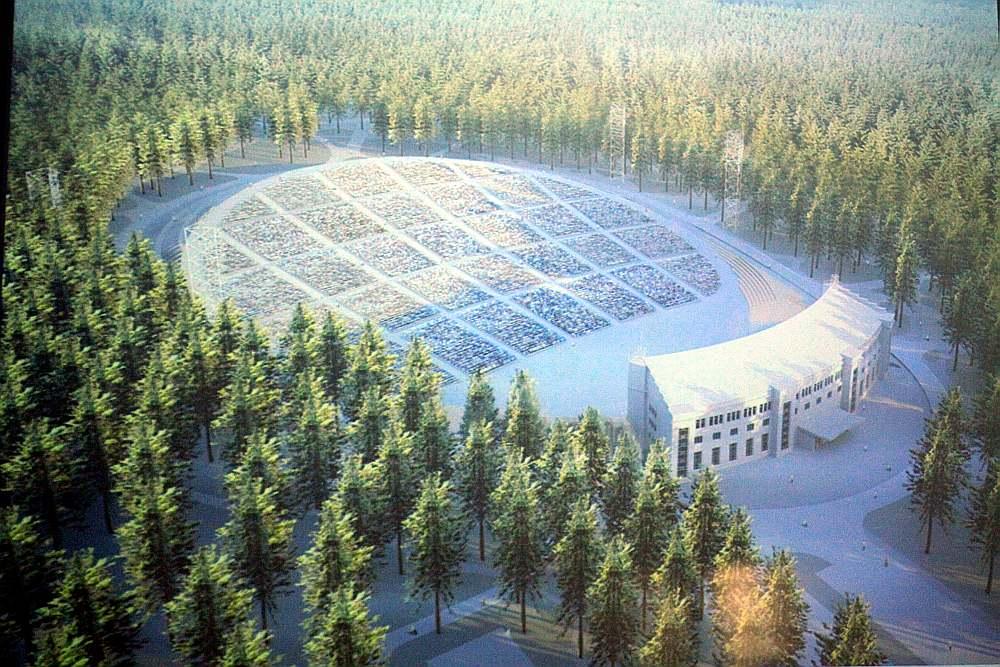 Mežaparka estrādes pārbūves pirmajā posmā plānots ievērojami palielināta skatītāju zona, paredzot 30 550 sēdvietas līdzšinējo 23 000 vietā.