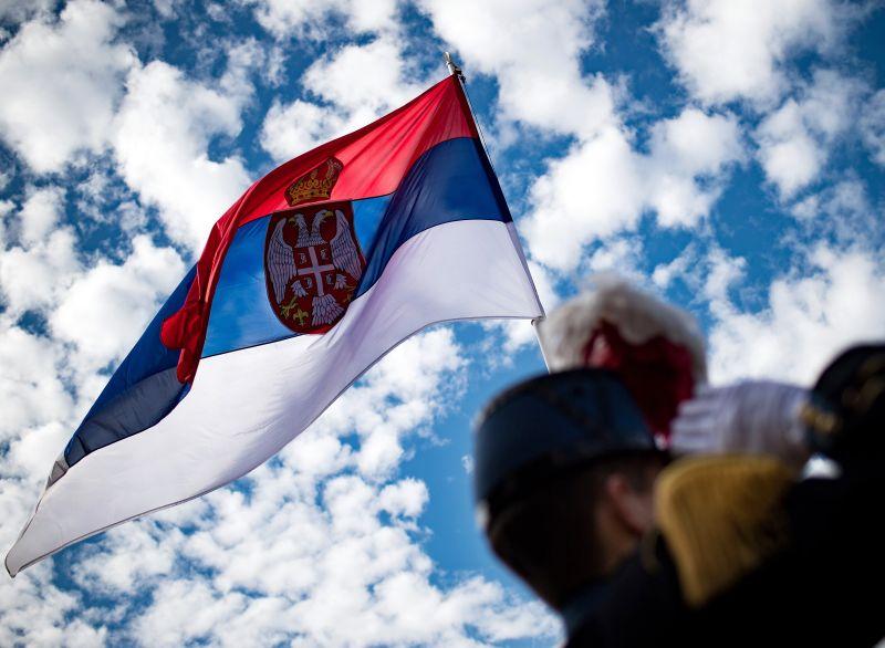 Serbijas karogs