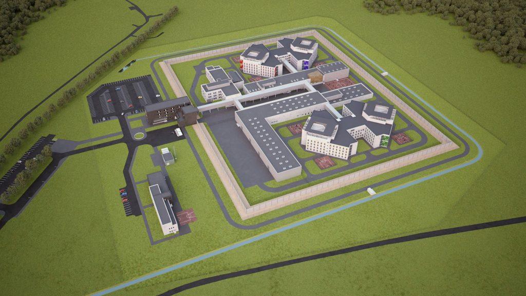 Liepājas cietuma vizualizācija
