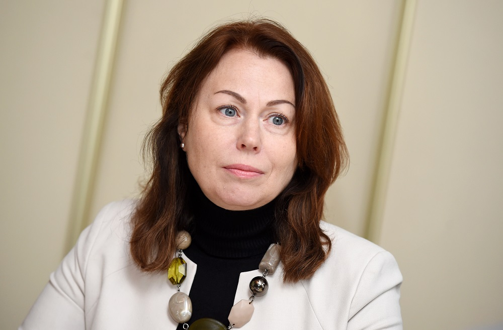 Latvijas Cūku audzētāju asociācijas vadītāja Dzintra Lejniece.