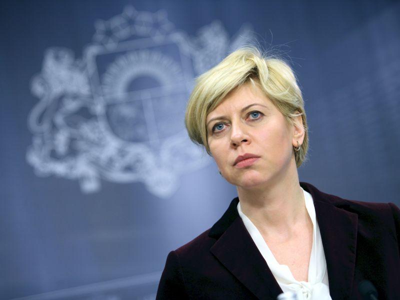 Veselības ministre Anda Čakša