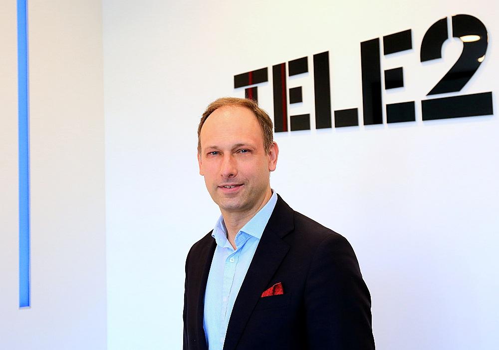 """""""Tele2"""" valdes priekšsēdētājs Valdis Vancovičs"""