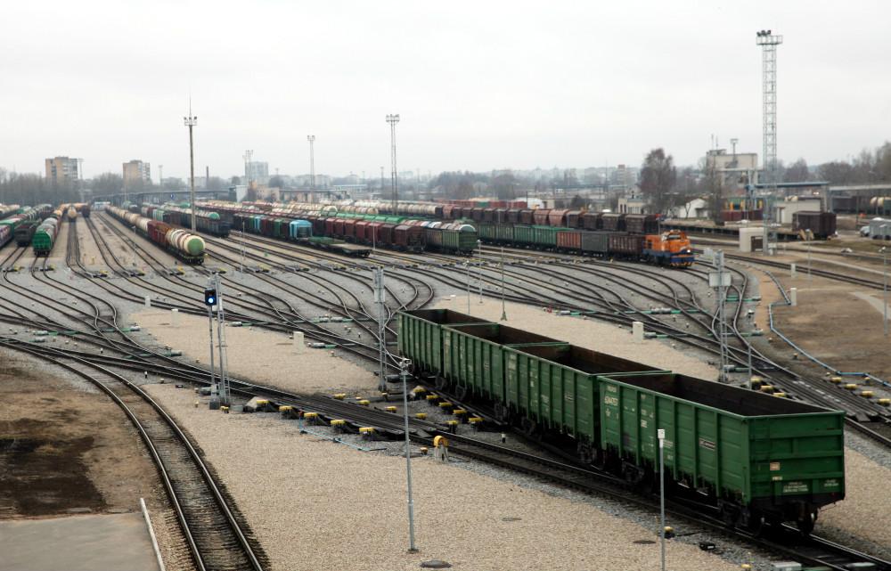 """VAS """"Latvijas Dzelzceļš"""" Šķirotavas stacijas šķirošanas uzkalns"""