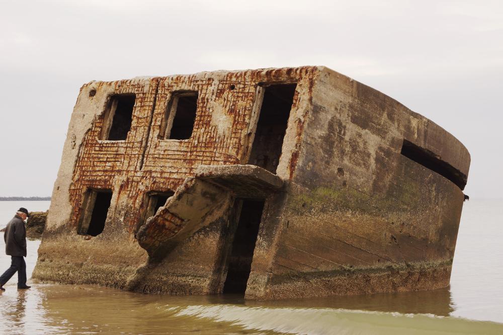 Slavenākā Karostas Ziemeļu fortu atlūza, kas iemūžināta neskaitāmās fotogrāfijās