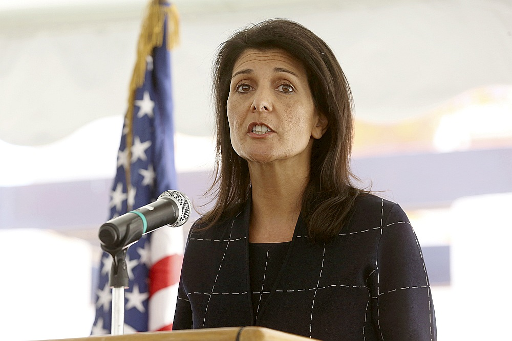 ASV vēstniece ANO Nikija Heilija