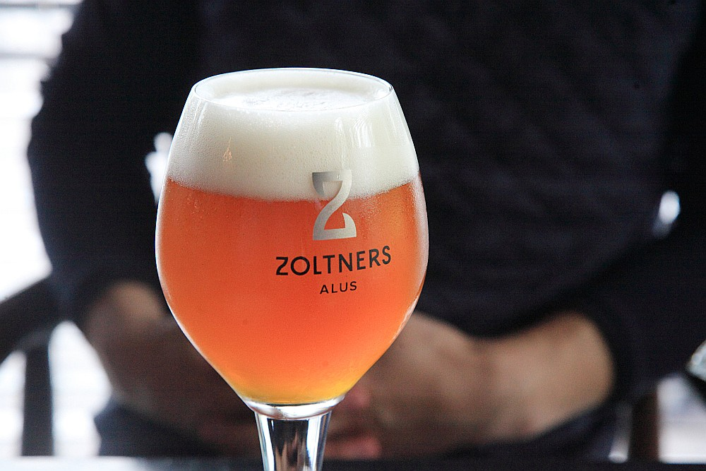 """Mazās """"Zoltnera"""" alus darītavas jauda ir 12 tūkstoši litru mēnesī."""