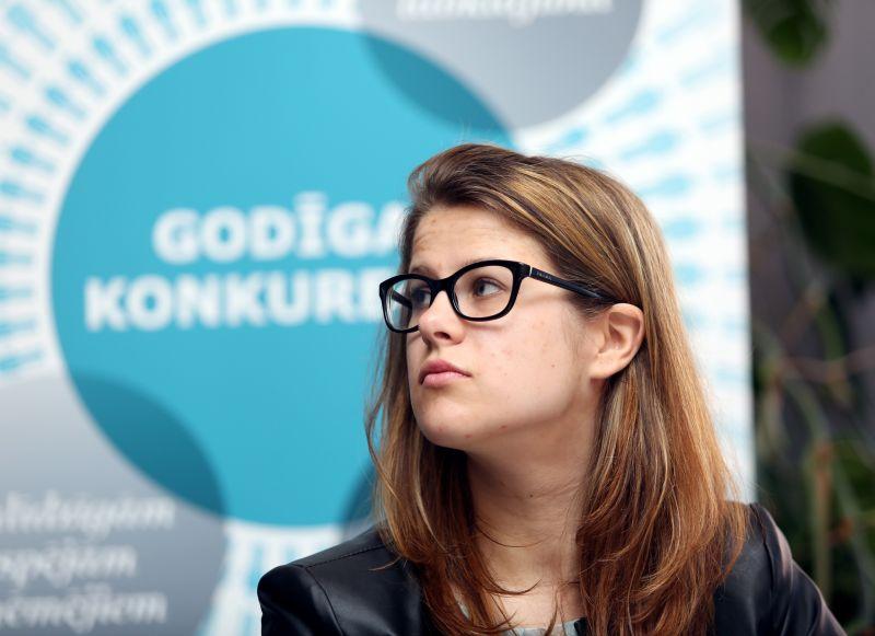 Konkurences padomes pārstāve Paula Vilsone