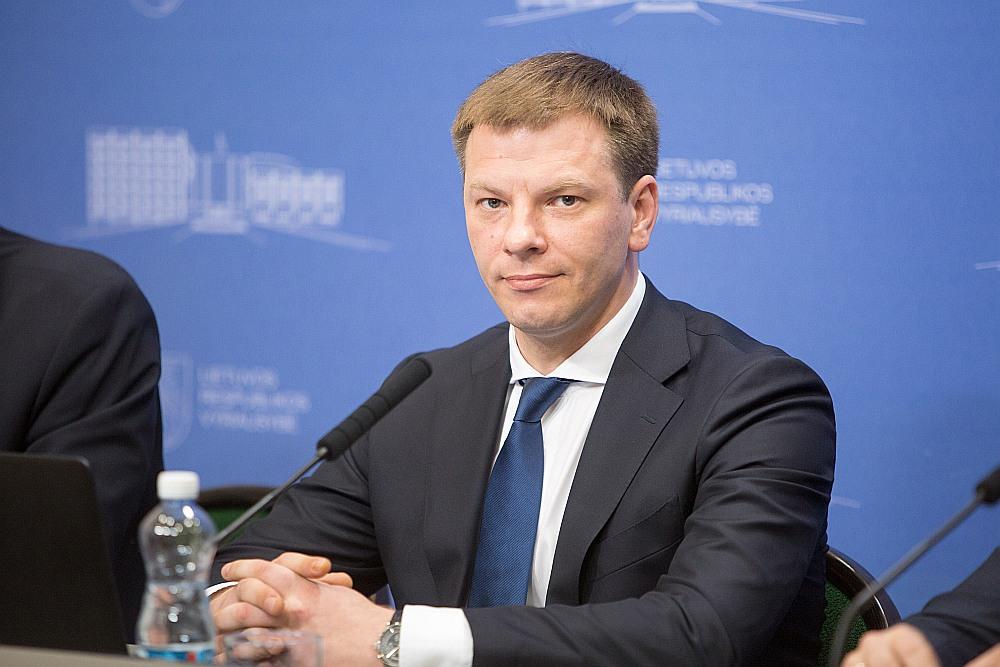 Lietuvas finanšu ministrs Viļus Šapoka