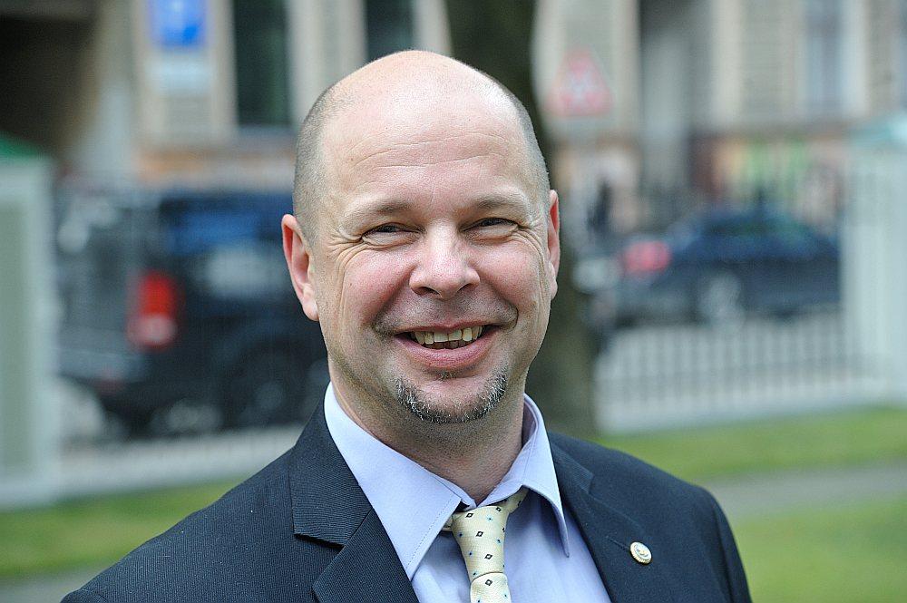 Militārais eksperts, NBS rezerves kapteinis Mārtiņš Vērdiņš.