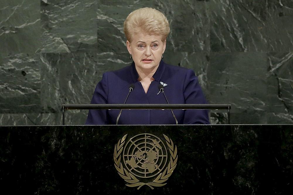 Bijusī Lietuvas prezidente Daļa Grībauskaite.