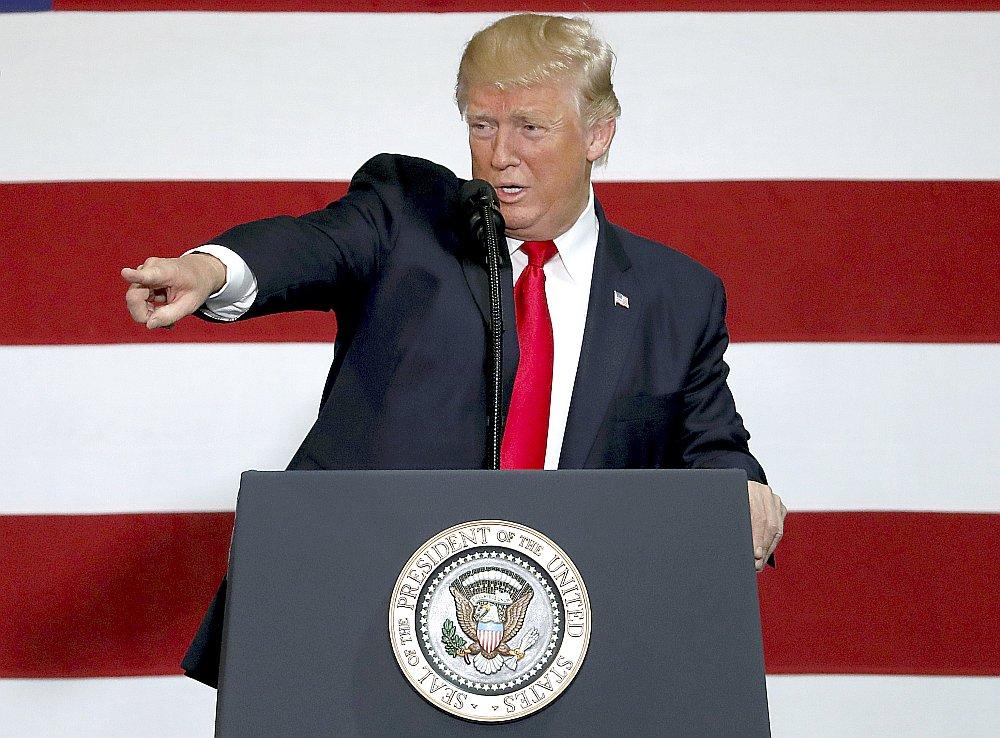 ASV prezidents Donalds Tramps.