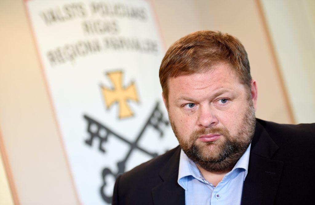 Valsts policijas Rīgas reģiona pārvaldes Kriminālpolicijas priekšnieks Andrejs Sozinovs.