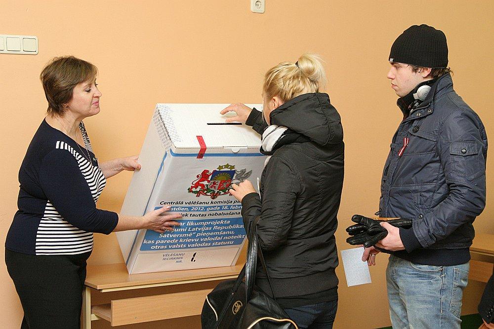 Tautas nobalsošanā par valodu piedalījās 1 098 847 jeb 71,12% balsstiesīgo.