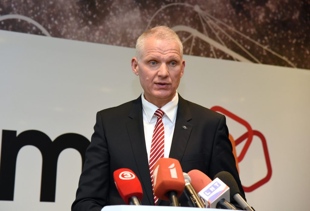 Latvijas Olimpiskās komitejas ģenerālsekretārs Žoržs Tikmers.