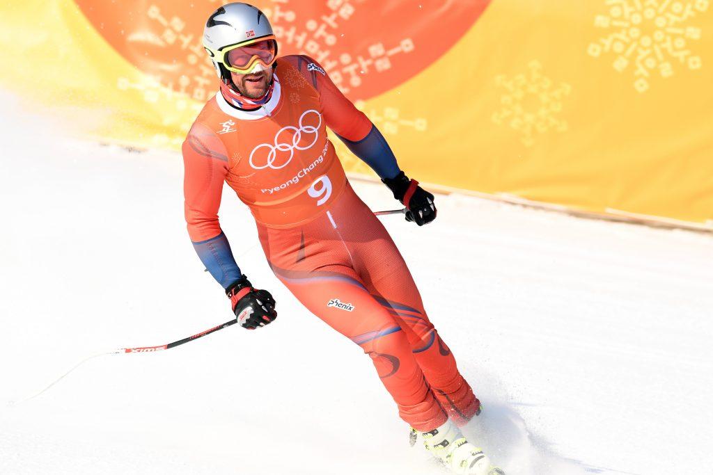 Norvēģijas slavenais kalnu slēpotājs Aksels Lunds Svindāls.