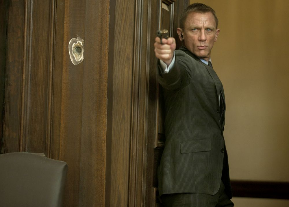 """Operācija Skyfall"" (2012). Aģents 007 – Daniels Kreigs."