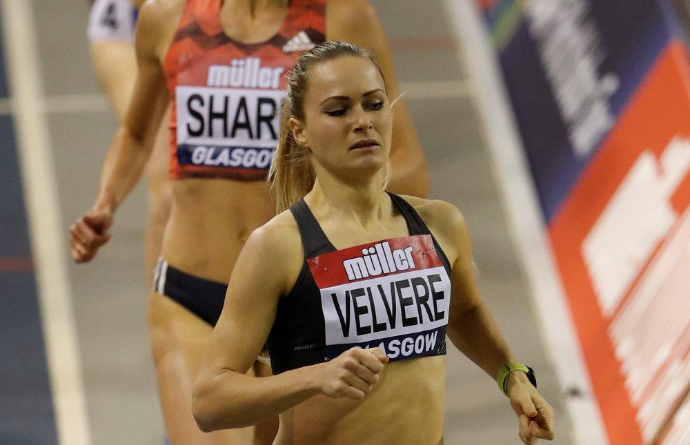 Līga Velvere aizvadījusi labu nedēļu sacensībās telpās, labojot valsts rekordu un izcīnot trešo vietu prestižās sacensībās Birmingemā.