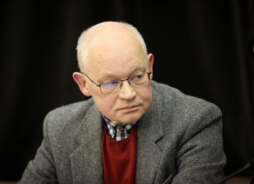 Latvijas Universitātes Sociālo zinātņu fakultātes profesors Ojārs Skudra/