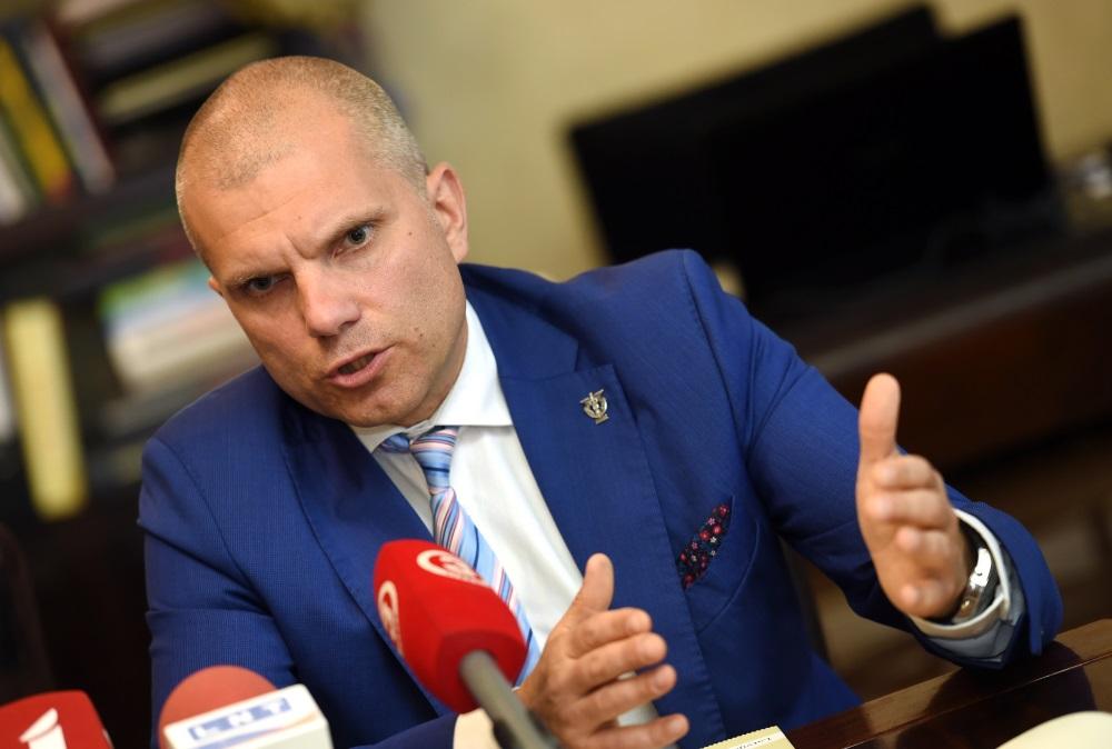 Arhīva foto. Par LTRK padomes priekšēdētāju ar balsu vairākumu atkārtoti ievēl Aigaru Rostovski.