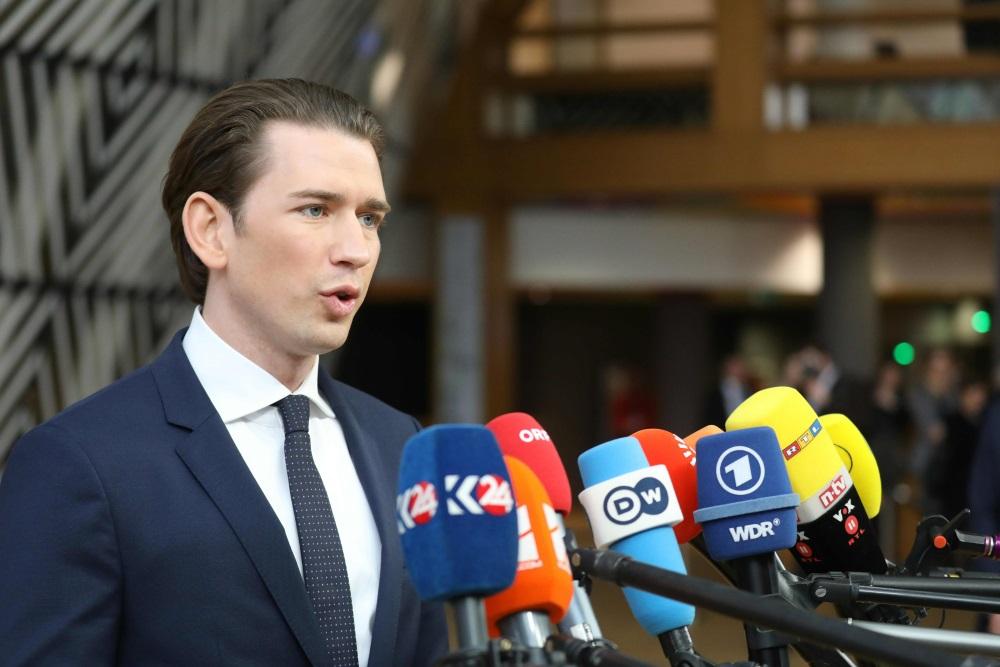 Austrijas kanclers Sebastians Kurcs.