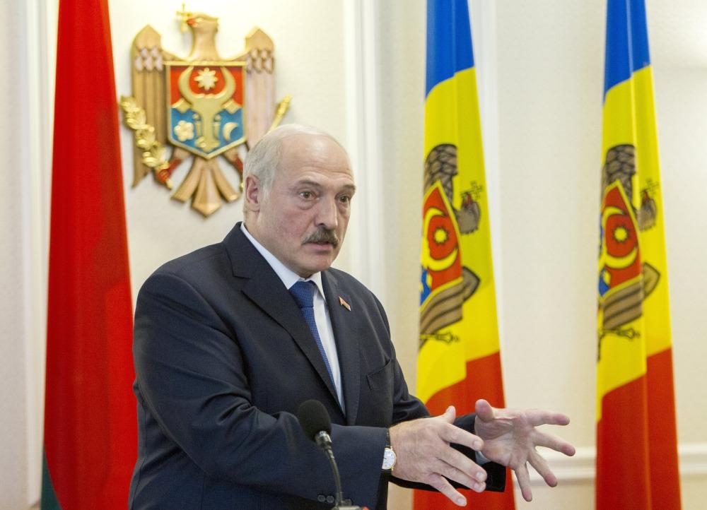 Baltkrievijas prezidents Aleksandrs Lukašenko.