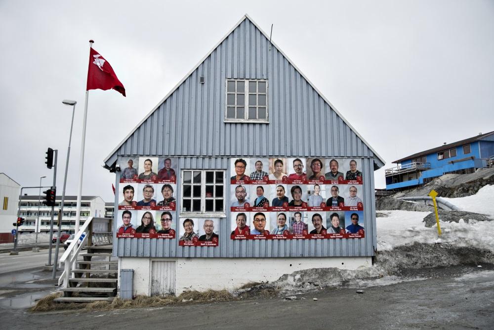 Grenlande vēlēšanu laikā