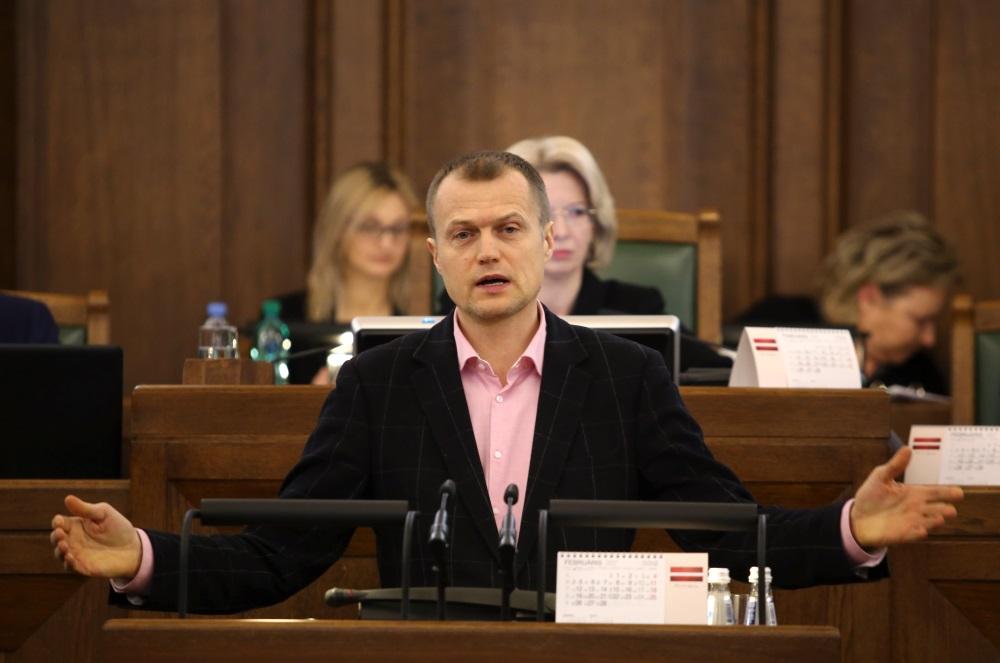 Saeimas deputāts Ivars Zariņš.