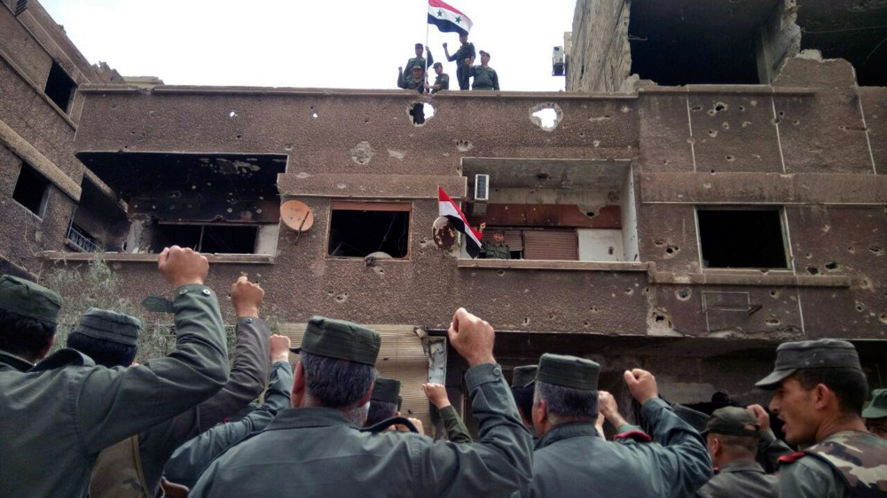 Sīrija, 22.05.2018.