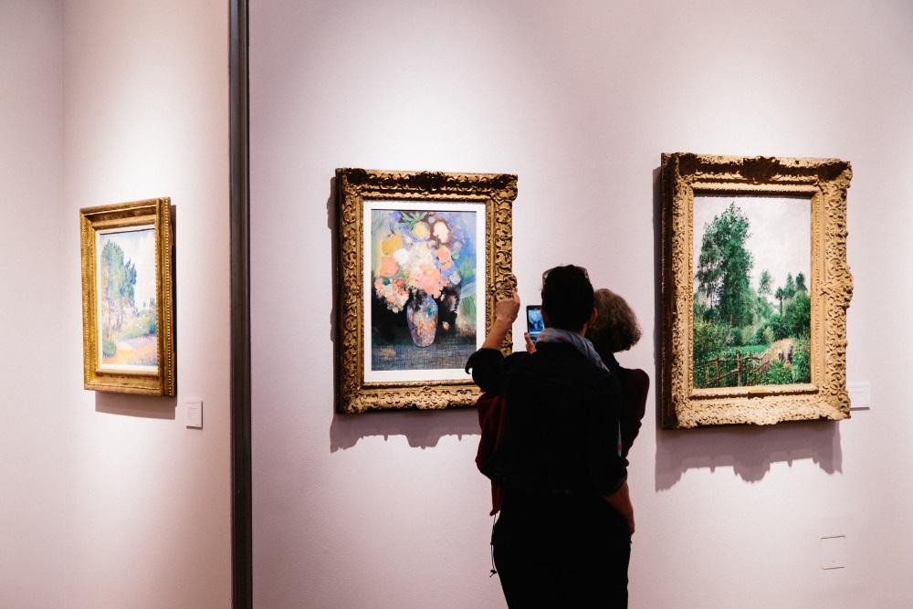 Rokfelleru ģimenes mākslas darbu izsole ASV, 2018.g.maijā.
