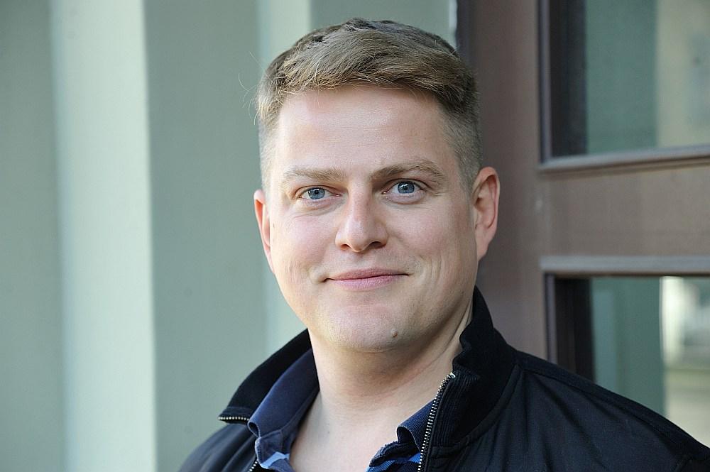 Latvijas Universitātes doktorants Oskars Gruziņš.