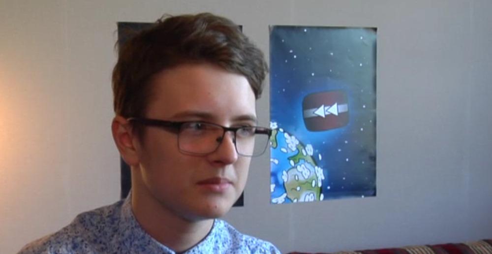 """Kristaps Graufels, You Tube kanāla """"Joret"""" autors jau 11 gados reģistrēja savu kanālu internetā."""