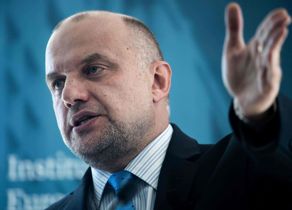 Igaunijas aizsardzības ministrs Jiri Luiks