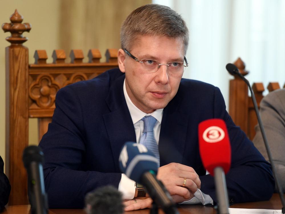 Rīgas domes priekšsēdētājs Nils Ušakovs (Saskaņa).