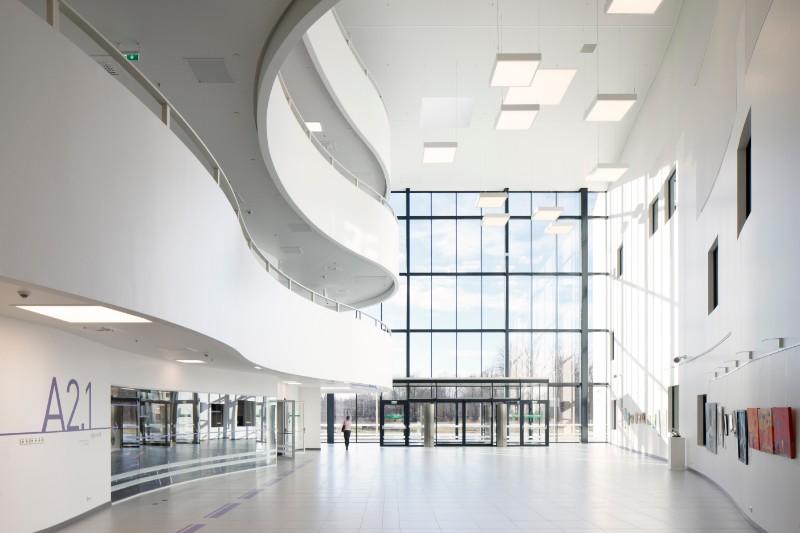 Paula Stradiņa klīniskās universitātes slimnīcas rekonstrukcijas un A korpusa jaunbūves 1.kārta.