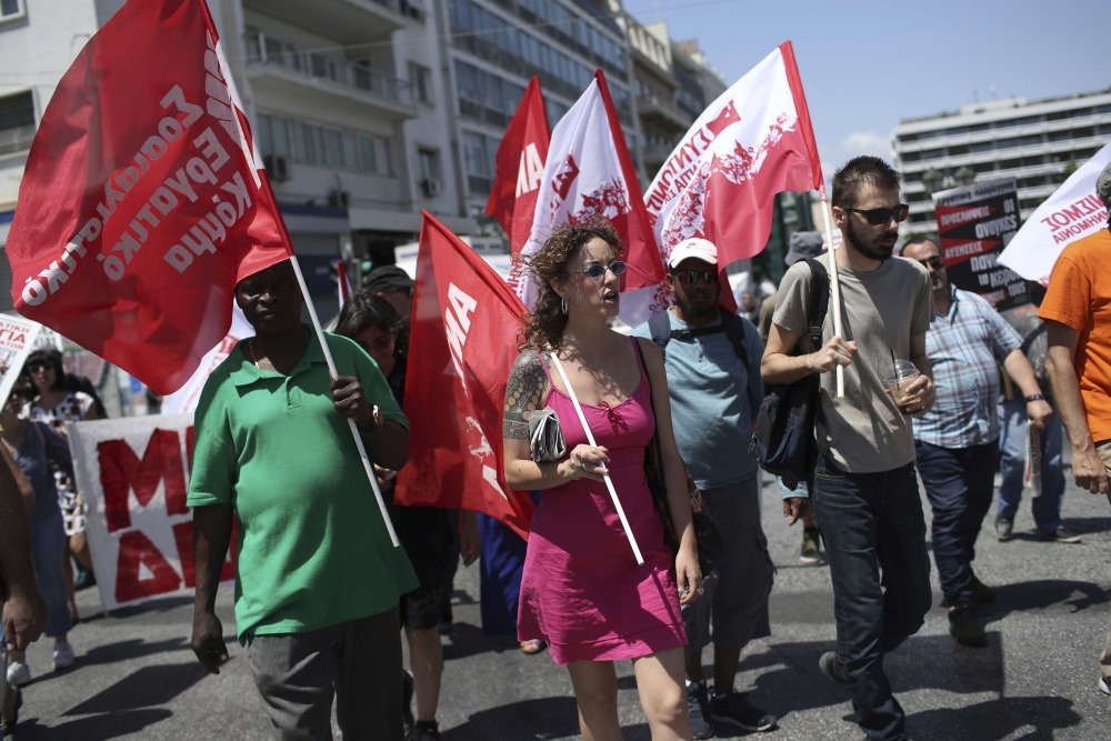 Streiks Grieķijā, 30.05.2018.