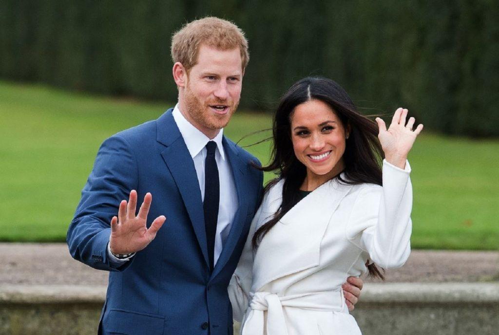 Princis Harijs un Megana Mārkla.