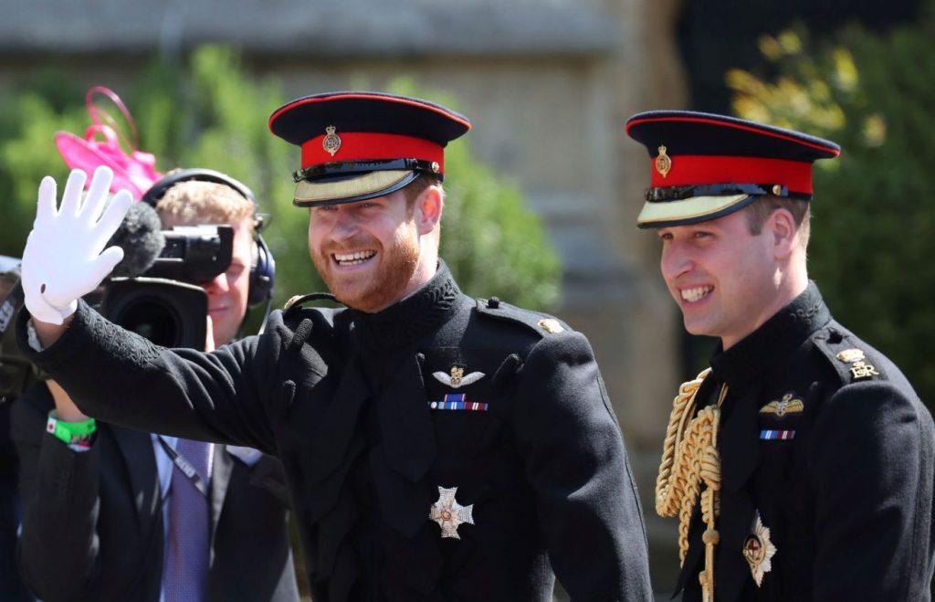 Princis Harijs un princis Viljams.